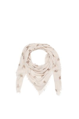 Light, woven butterfly scarf