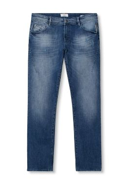 Stone-Washed Jeans aus BW-Mix