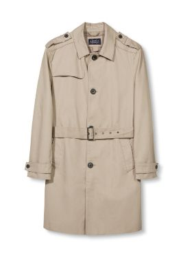 Classic trench coat in cotton