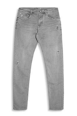 Destroyed Denim mit Stretch-Komfort