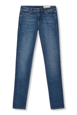 Leichte Stretch-Denim im Five-Pocket-Stil