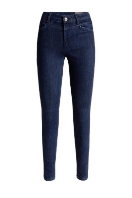 Schmale Stretch-Dark-Denim