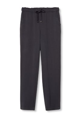 Firm stretch fabric tracksuit bottoms