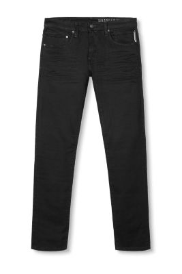 Slim fit five-pocket stretch jeans