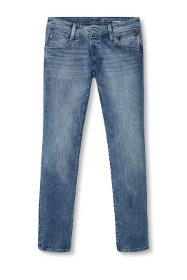 Jean 5 poches en denim stretch