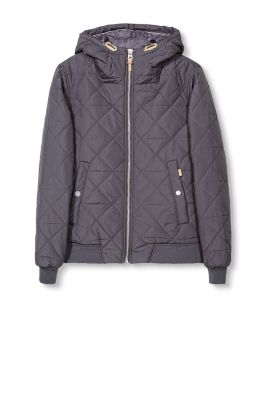 Quilted jacket with light padding