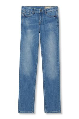 Helle Stretch-Jeans im Five-Pocket-Stil
