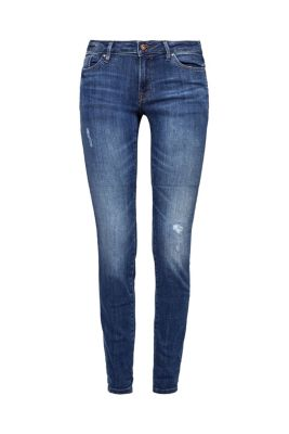Destroyed Stretch-Jeans