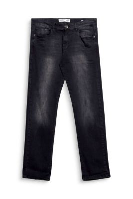 5 pocket jeans made of black stretch denim