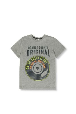 T-shirt con stampa in 100% cotone