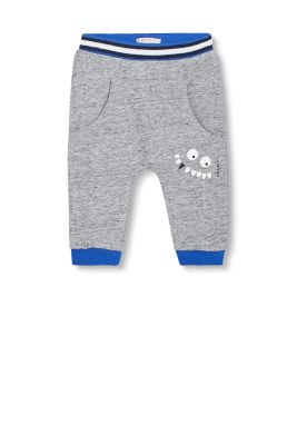 Baumwoll-Mix Sweat-Pant mit Monster