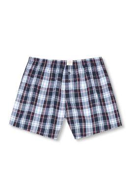 Esprit / Web-Boxer-Shorts aus 100% Baumwolle