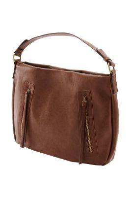 Esprit / Hobo-Bag mit zwei Zipperfächern vorne