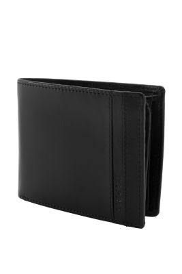 Esprit / Cowhide wallet with a pouch
