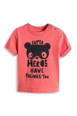 Esprit / T-Shirt mit Statement, 100% Baumwolle