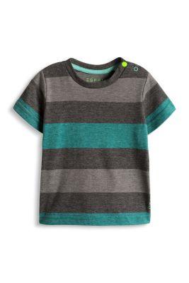 Esprit / Weiches Baumwoll-Mix T-Shirt mit Streifen
