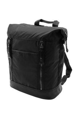 Esprit / Softer Rucksack aus leichtem Nylon