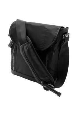 Esprit / Soft medium shoulder bag made of nylon