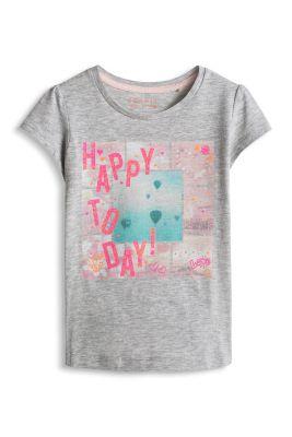 Esprit / T-shirt en coton à inscription