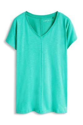Esprit / Baumwoll-Mix Jersey Sport T-Shirt