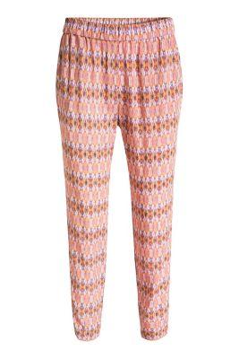 Esprit / Fließende Hose mit Muster-Print