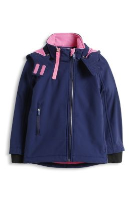 Esprit / Fleecegefütterte Softshell-Jacke