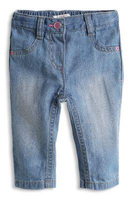 Esprit / Weiche Basic Girl Jeans mit Verstellbund