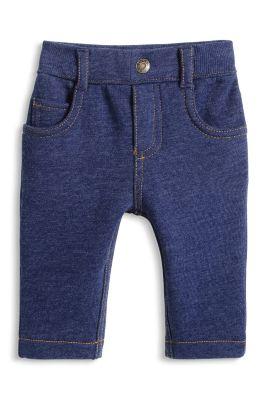 Esprit / Bequeme Sweat Jeans aus Baumwoll-Mix