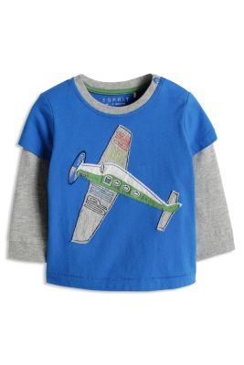 Esprit / Jersey Layer-Shirt, 100% Baumwolle