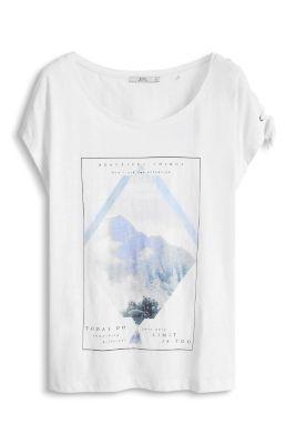 Esprit / Statement T-Shirt, 100% Baumwolle