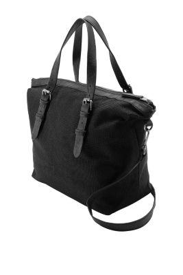 Esprit / City Bag aus softem Gewebe mit Struktur