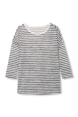 Esprit / Flowing striped top