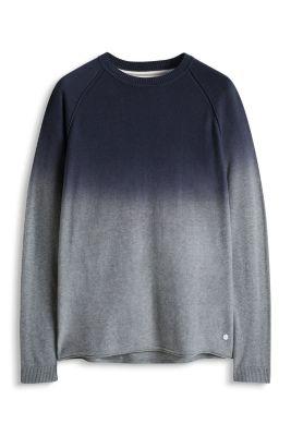 Esprit / Pulli mit Farbverlauf, 100% Baumwolle