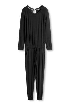 Esprit / Jumpsuit aus fließendem Jersey/Stretch