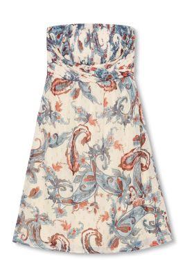 Esprit / Paisley-Print Kleid mit Glanz