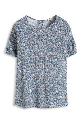 Esprit / Fließende Bluse mit Allover-Print