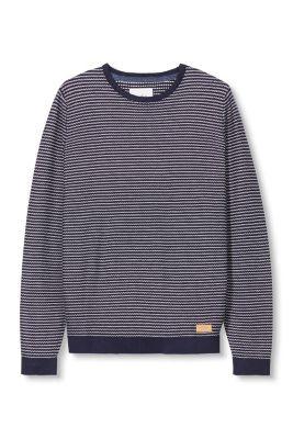 Esprit / Patterned jumper in 100% cotton