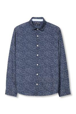 Esprit / Hemd mit Blütenmuster, 100% Baumwolle