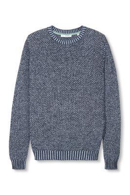 Esprit / 2Tone Pulli mit Muster, 100% Baumwolle
