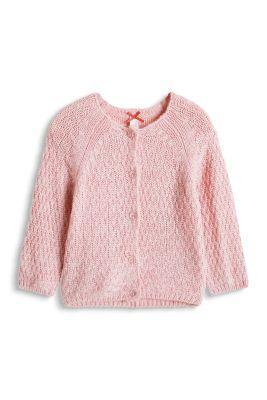 Esprit / Grobstrick-Cardigan mit Wolle