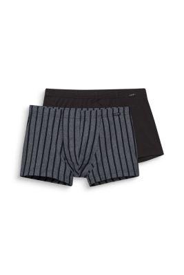 Esprit / Baumwoll-Stretch-Shorts im Doppelpack