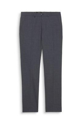 Esprit / Anzughose aus Schurwoll-Mix mit Stretch