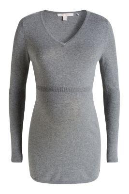 Esprit / Softer Feinstrick-Pulli aus 100% Baumwolle