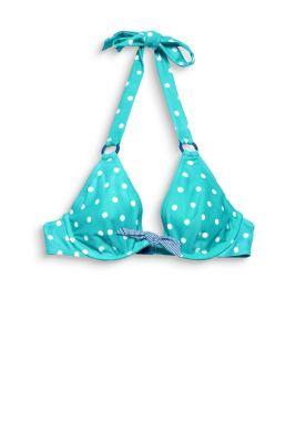 Esprit / Unwattiertes Neckholder-Bikini-Top